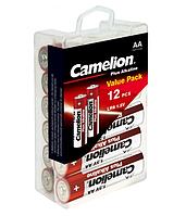 Батарейки Camelion LR6-PBH12 Plus Alkaline (Plastic Box) 1x12 шт AA