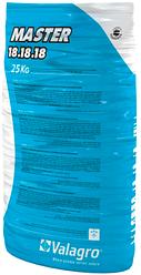 Минеральное удобрение MASTER NPK 18-18-18 Valagro 25 кг