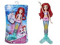 Кукла Принцесса Русалочка Ариэль 28 см с светящимся хвостом Ariel Hasbro E6387