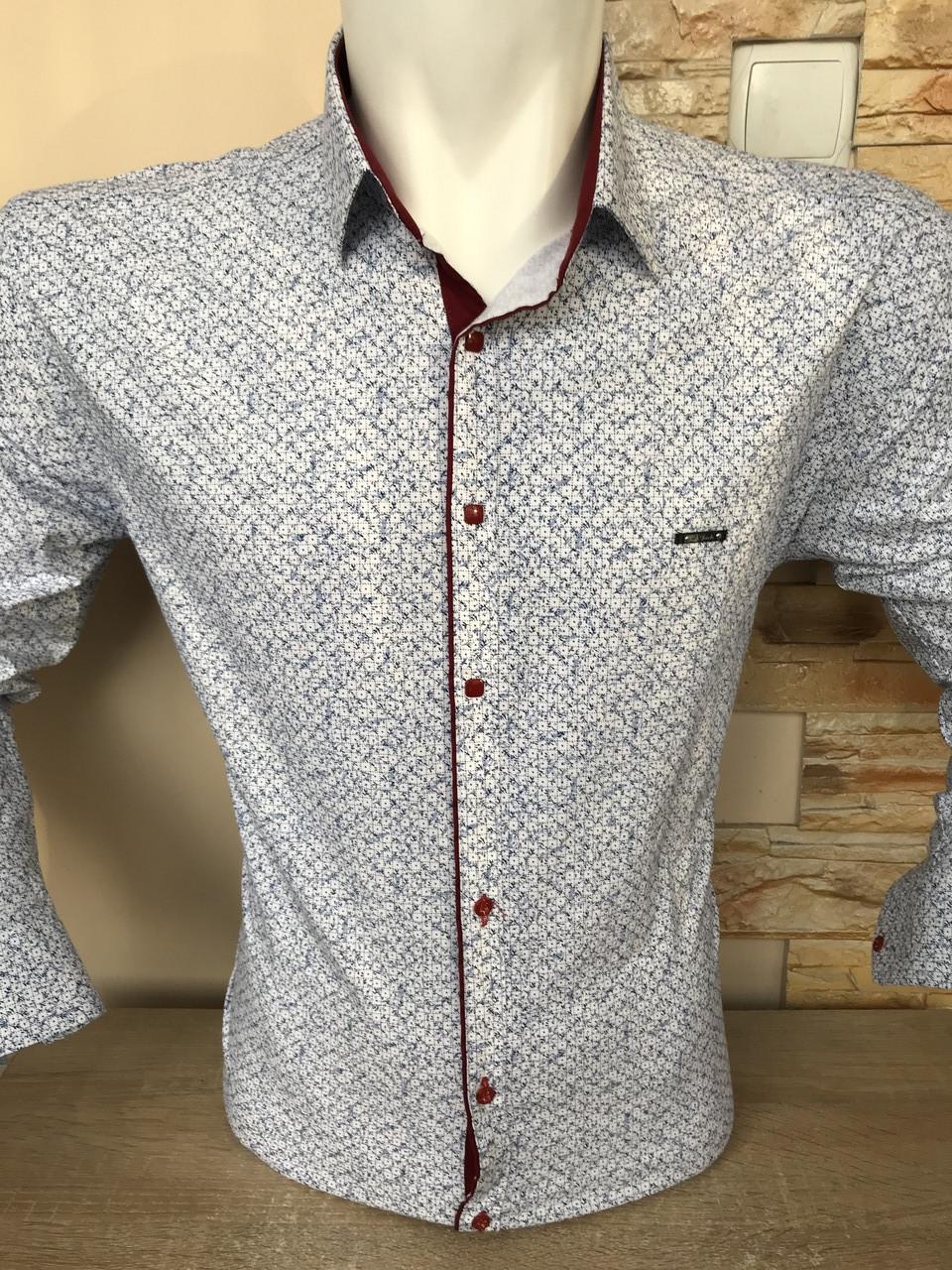Рубашка батальная Paul Jack с принтом