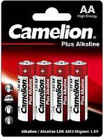 Батарейки Camelion LR6-BP4 Plus Alkaline 1x4шт AA
