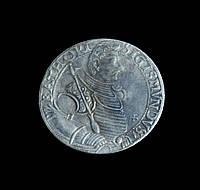 Телер 1593 г. Князь Трансильвании Сигизмунд Баторий, копия серебряной монеты №540 копия