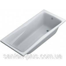 Акриловая прямая ванна Брина 180х80