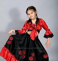 Карнавальный костюм цыганочка, рост от 120 см до 146 см