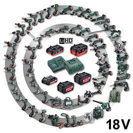 Аккумуляторные системы Metabo PICK+MIX 18V