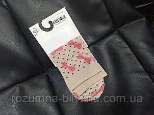 Шкарпетки жіночі капронові з принтом. ТМ Magnetis 22-26см