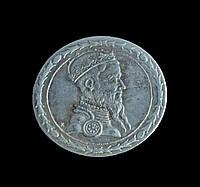 Талер 1565 г.,Речь Посполитая, Сигизмунд 2 Август, копия в серебре №546 копия