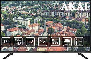 Телевізор LED AKAI UA43LEF1T2S