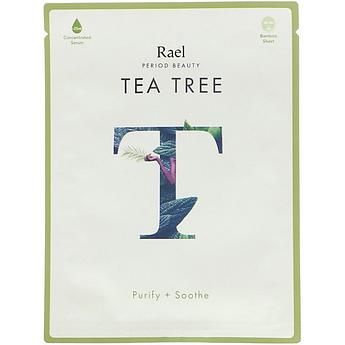 Маска для жирной кожи с экстрактом чайного дерева Rael Beauty Tea Tree Purify + Soothe Mask 25 мл