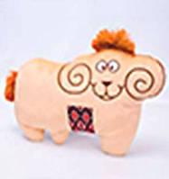 Мягкая игрушка баран с орнаментом  00235-990