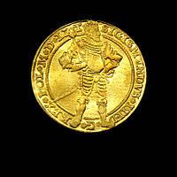 Золотая монета король Польши и Балтийского герцогства Сигизмунд 3 копия №551 копия, фото 1