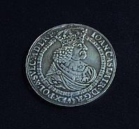 Талер 1661 г Ян Казимир Польша копия иностранной монеты в серебре №556 копия