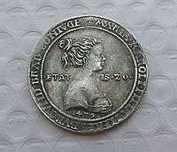 Свадебный талер 1479 Священная римская империя серебро №557 копия