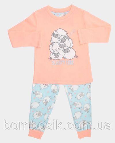 Пижама флисовая Dunnes для девочки, 5-6л (110-116см)