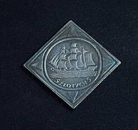 5 злотых 1936 г Польша Фрегат копия в серебре №558 копия