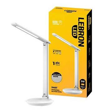 Лампа настольная Lebron 9W Белый