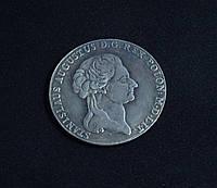6 злотых 1795г Польша Станислав Август копия в серебре №562 копия