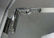 Верхняя петля ножницы