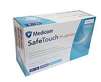 Нитриловые перчатки L (8-9) синие Medicom SafeTouch H-series