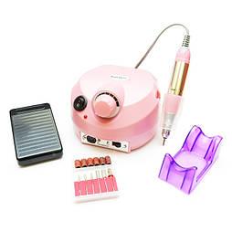 Фрезер для маникюра и педикюра Drill Pro 601 (Розовый) 45000 оборотов 65 Вт