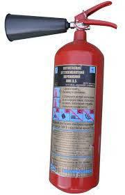 Огнетушитель углекислотный переносной ВВК-3,5 (ОУ-5) (з), фото 2