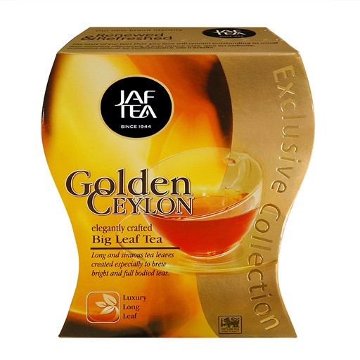 Чай чёрный Jaf Golden Ceylon 100 г.
