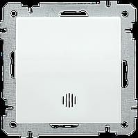 Выключатель с подсветкой одноклавишный серия BOLERO (белый) ВК01-01-0-ББ IEK