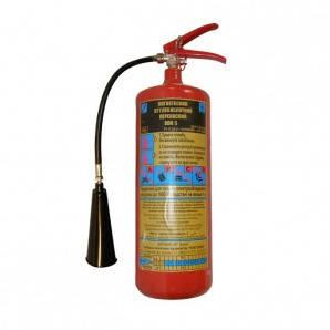 Огнетушитель углекислотный переносной ВВК-5/ОУ-7, фото 2