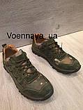 Кроссовки из натуральной кожи со вставкой из сетки, фото 5
