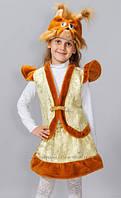 """Карнавальный костюм из лазера """"Белочка"""", размер 3-7 лет"""
