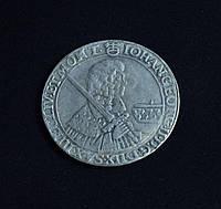 1 талер 1664 г Георг 2 Дрезден Саксония  в серебре №572 копия