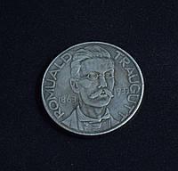 10 злотых 1863-1933гг Польша Ромуальд Траугутт 70 лет восстанию копия в серебре №574 копия