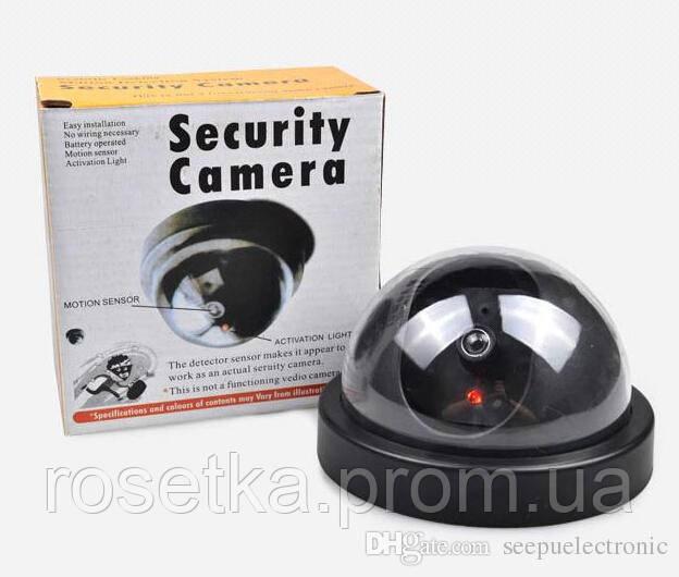 "Видеокамера муляж ""шар"" - обманка, Fake Security Camera"