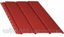 Красный без перфорации 4,0х0,310м (1,22 м2). Софит Bryza (Бриза)