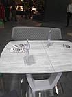Лавка- банкетка Finiks Финиск бежевый кожзам 590*860*1210, фото 7
