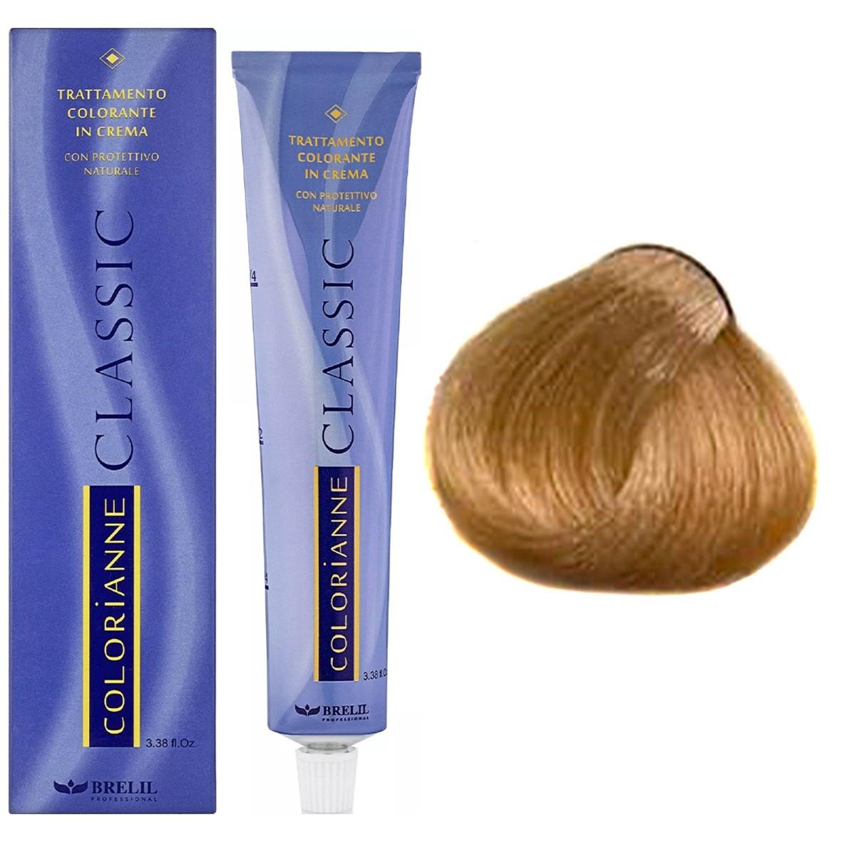 Краска для волос 10.3 Brelil Colorianne Classic очень светлый золотистый блондин 100 мл