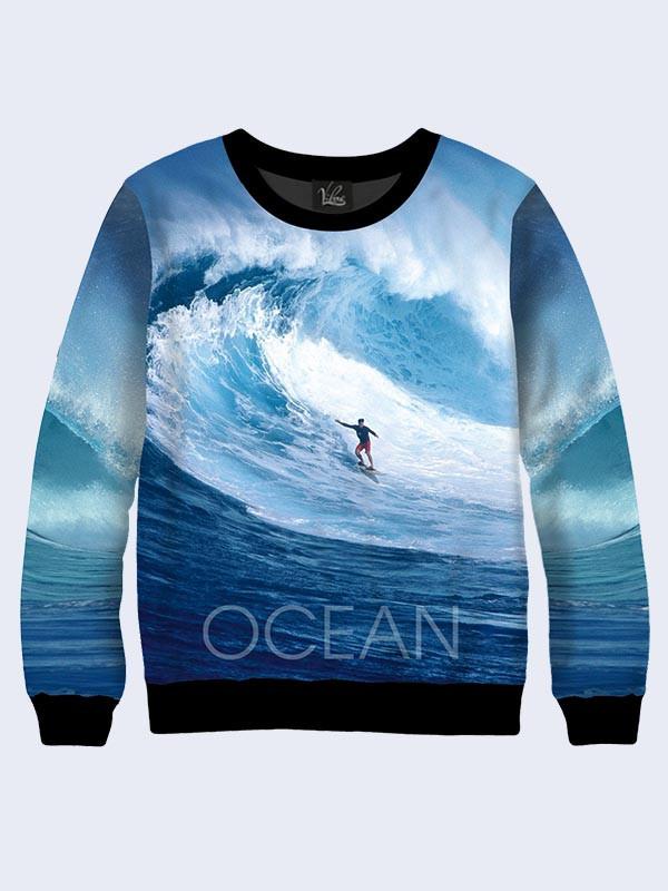 Чоловічий Світшот Океан