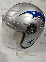 """Шлем детский открытый серый, """"TMMP""""."""