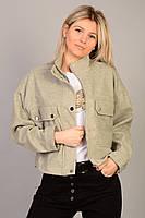 Жіноча весняна куртка оптом Міѕѕ Fashion (4347) 35Є, лот 2шт, фото 1