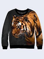 Мужской Свитшот Спокойный тигр