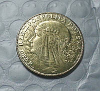 50 злотых 1925г Польша Речь Посполита копия золотой монеты №593 копия, фото 1