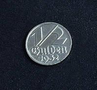 1/2 гульдена 1932г Германия Данциг копия в серебре №594 копия
