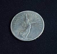 5 злотых 1931г Польша Ника копия серебряной монеты №596 копия