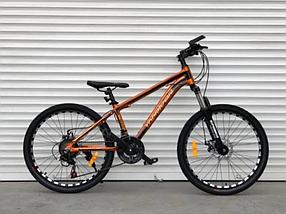 """Гірський Велосипед TopRider 24 дюймів""""680"""" Золотий"""