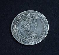 Талер 1652г Польша Ян Казимир Познань копия серебряной монеты №601 копия
