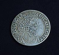 Талер 1650 г Польша Ян Казимир копия серебро №602 копия