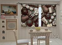 Фото-шторы в кухню