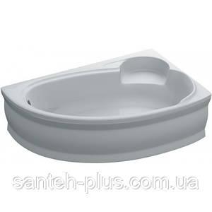 Асимметричная акриловая ванна Адель 170х110 правая
