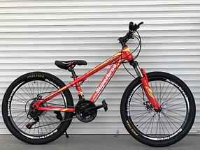 """Гірський Велосипед TopRider 24 дюймів""""285"""" червоний"""