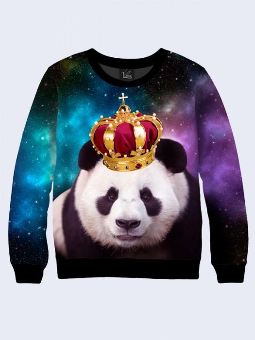 Чоловічий Світшот Панда в Короні